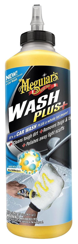 Meguiar's G25024EU Wash Plus + 709ml Meguiar' s