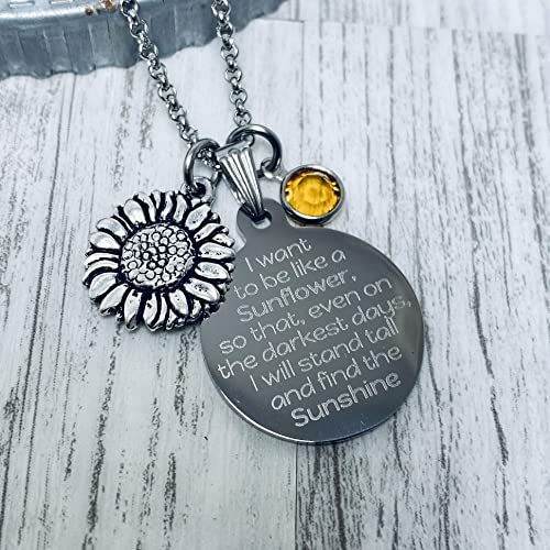Custom Gift Teacher Necklace Choose chain Sterling Silver Heart Necklace Engraved heart Choose meassage