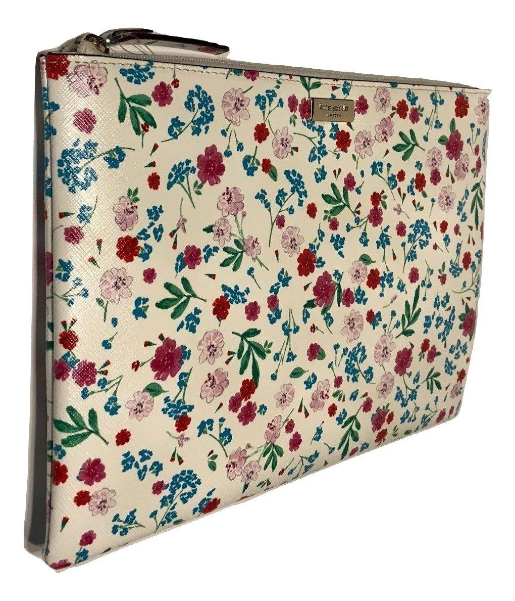 Kate Spade New York Gardner Street Greenhouse Gia Clutch WLRU4881 Cream Floral