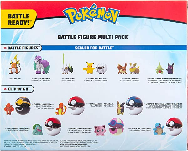 Pokémon Battle Figure Multi Pack