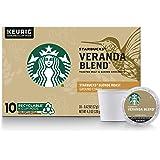 Starbucks Blonde Roast K-Cup Coffee Pods — Veranda Blend for Keurig Brewers — 10 Count (Pack of 1)