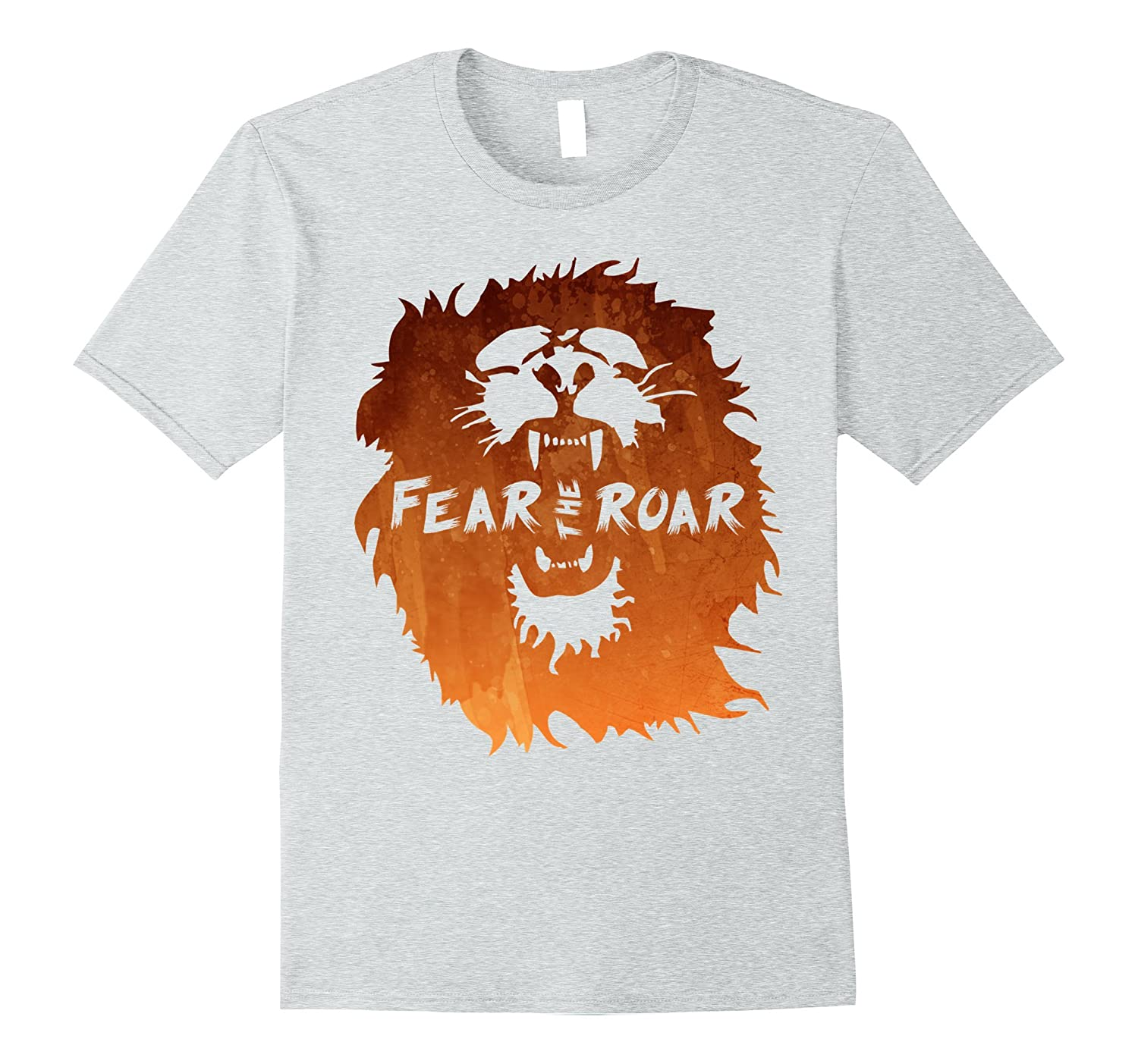 Fear The Roar - Lion Animal Cool - T Shirt-Vaci