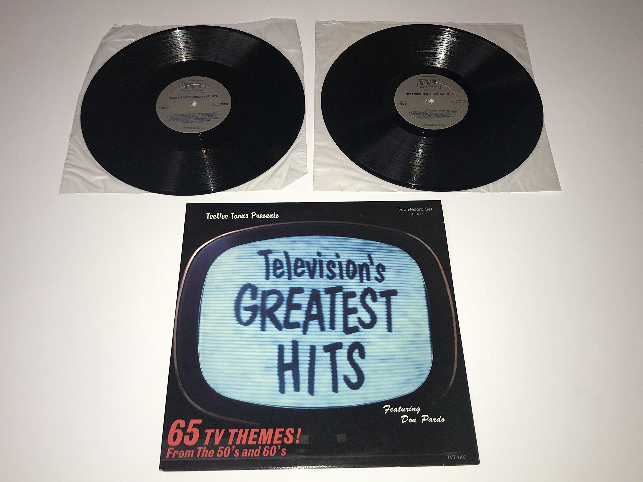 Los éxitos más grandes de la televisión: 65 temas de televisión de los años 50 y 60
