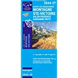 Top25 3244ET ~ Montagne Ste-Victoire carte de randonnée avec une règle graduée gratuite