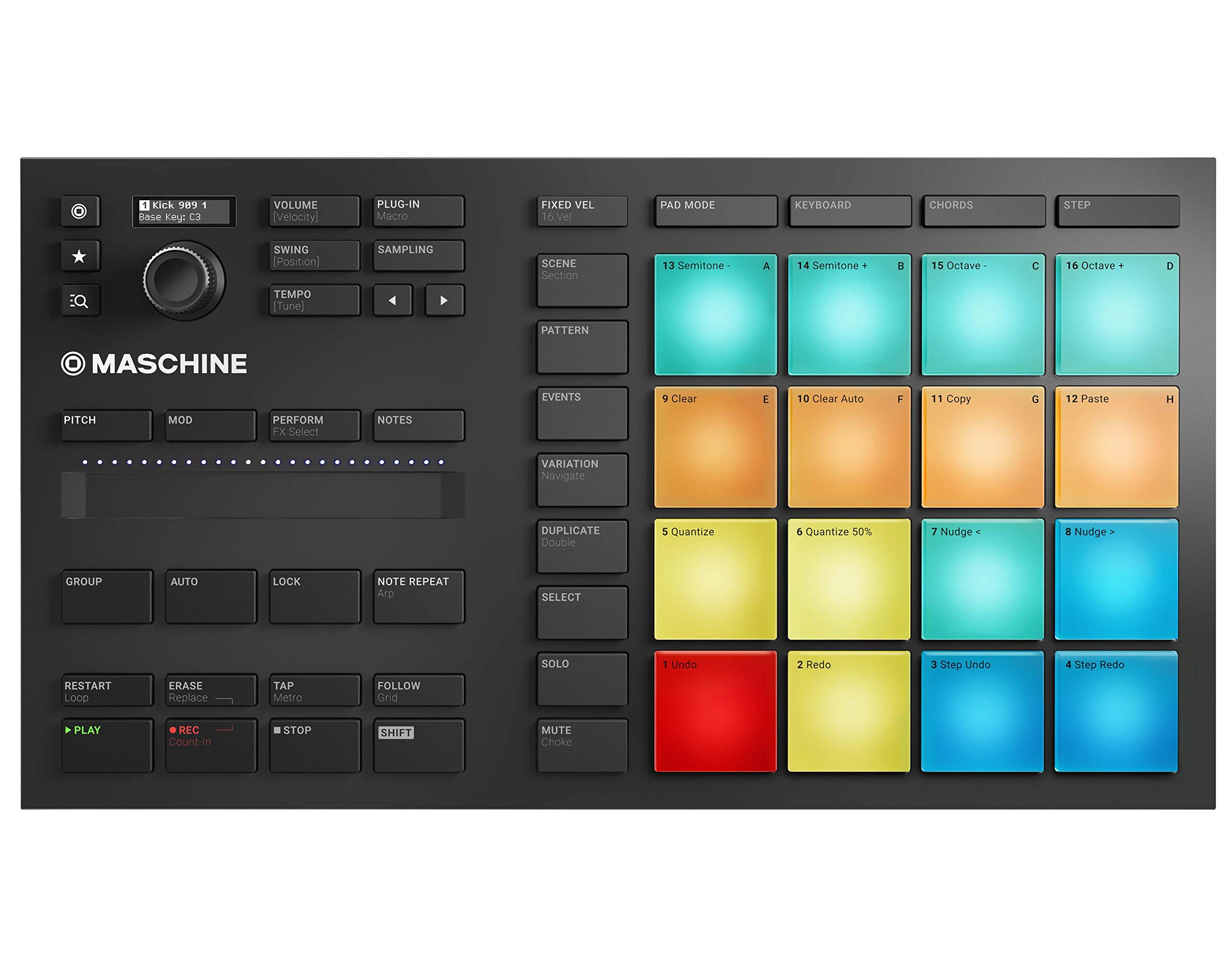 Native Instruments Maschine Mikro Mk3 Drum Controller by Native Instruments (Image #1)