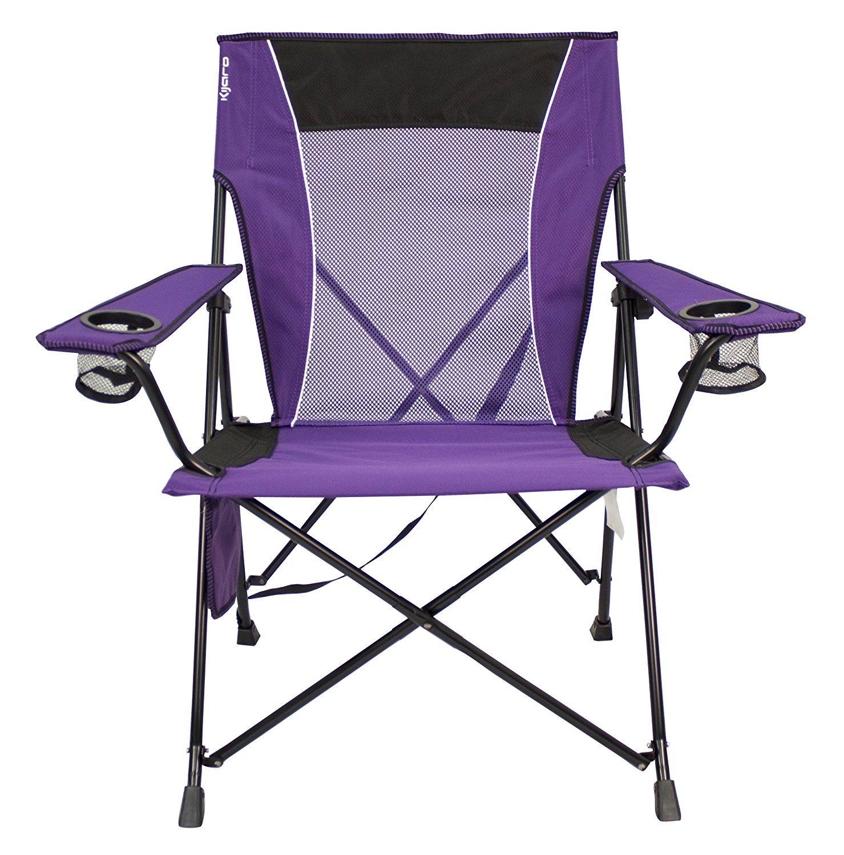 Kijaro Dual Lock Chair Kawachi Purple [並行輸入品] B0784H548C