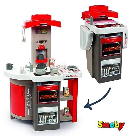 Amazon.com: Smoby-Kitchen (312200) - Juguete plegable, color ...