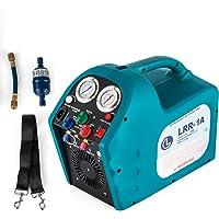 DreamJoy 1/2HP Refrigerant Recovery Machine Portable 115V AC Refrigerant Recycling Machine Automotive HVAC 558psi Refrigerant Recovery Unit Air Conditioning Repair Tool (115V)