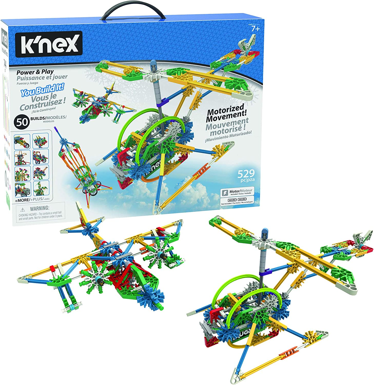 Moving Creations with K'NEX