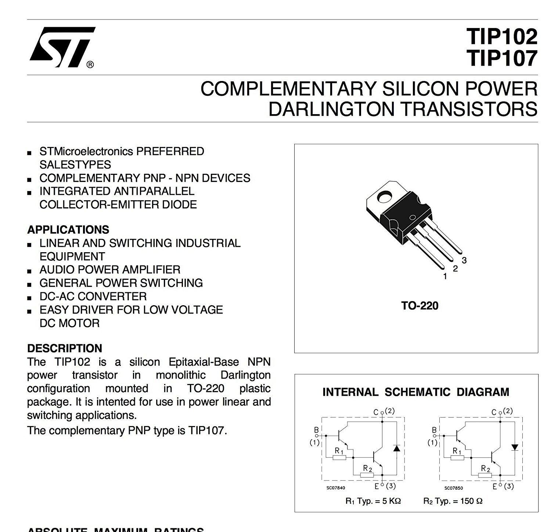 LOT DE DEUX TRANSISTORS PNP 60V 10A 80W TIP34A
