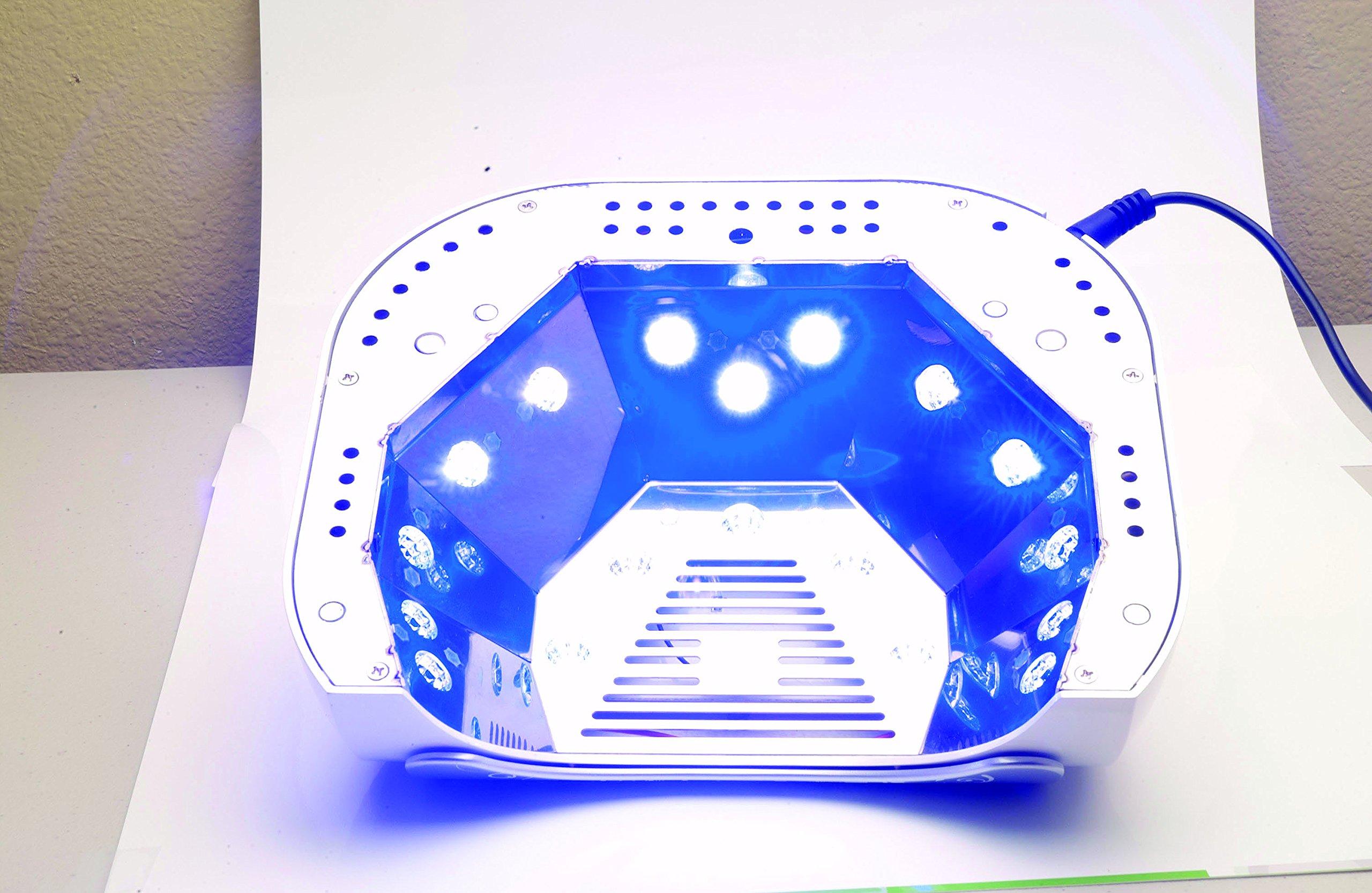 Gelish Harmony 18G Gel LED Nail Polish Curing Manicure Light Lamp + Basix Kit by Gelish (Image #3)