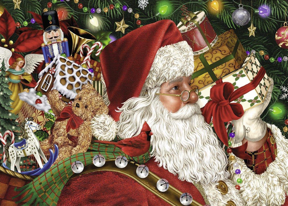 Amazon.com: Ravensburger Santa Claus Puzzle (1000 Piece): Toys & Games