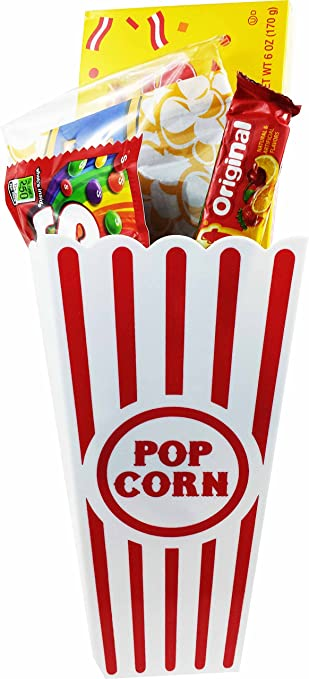 Amazoncom Movie Night Popcorn And Candy Gift Basket Includes