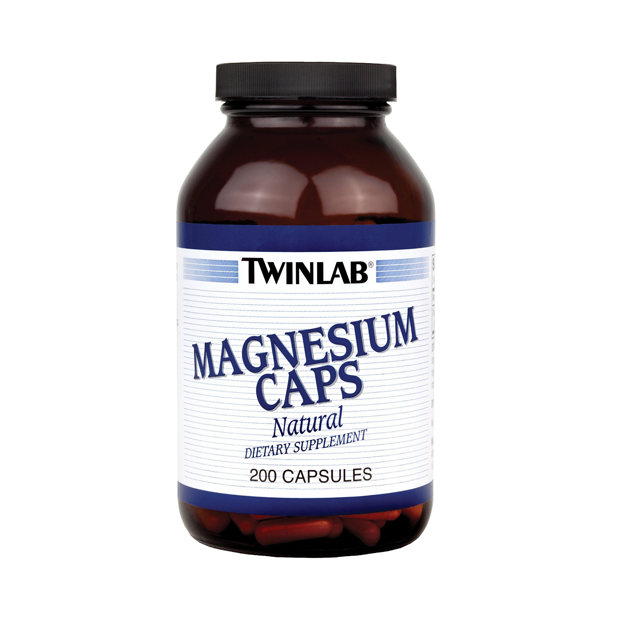 Twinlab, Magnesium 400Mg, 200.00 caps