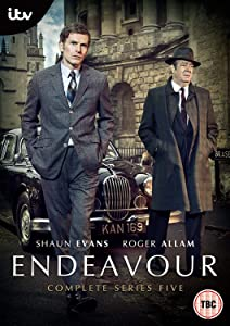 Endeavour Series 5 [DVD] [2018] [Region2] Requires a Multi Region Player