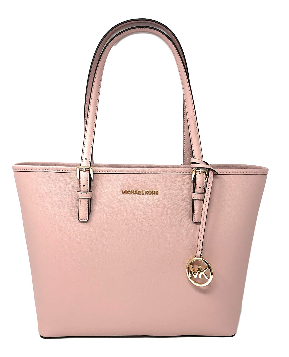 Michael Kors Jet Set Travel Medium Carryall Saffiano Tote