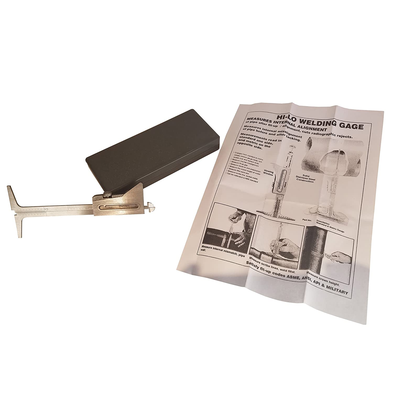 Metric R HI-LO Welding Gauge Gage Test Ulnar Welder Inspection HFS