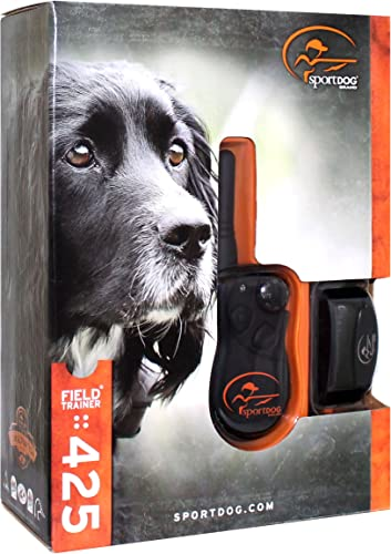 SportDog – SD-425 – Field Trainer for Introductory and Advanced Training Dog Waterproof Shock Collar