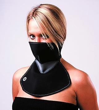 Mascara Facial Profesional Cubre Pecho de Neopreno Reversible Ciclismo Moto 3169