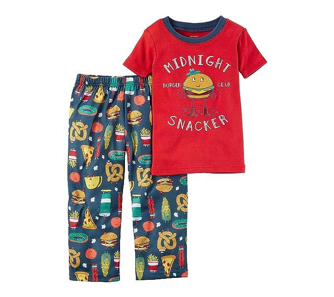 7dc3bd3d0 Amazon.com  Carter s Boys  12M-4T 2 Piece Midnight Snacker Pajama ...