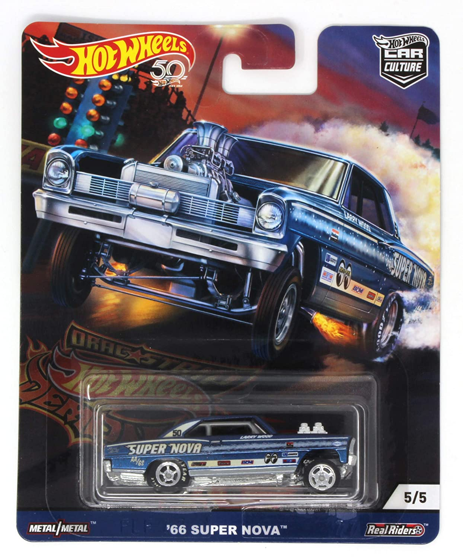 DRAG STRIP DEMON HOT Wheels Blue 66 Super NOVA CAR Culture MATTEL SG/_B07KJLHKYQ/_US