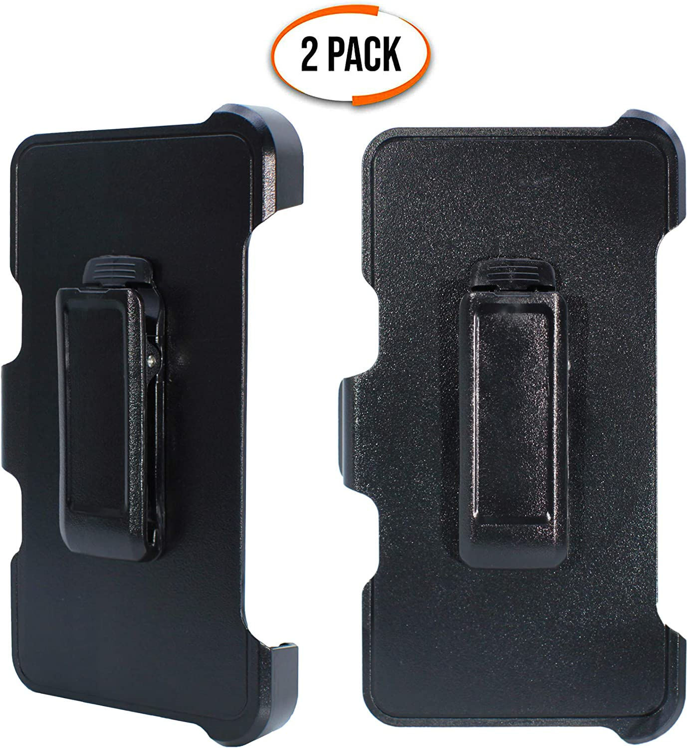 """2 Pack iPhone 6 4.7 iPhone 6S WallSkiN Turtle Series Replacement Belt Clip Holster /""""Compatible with OtterBox Defender Series Case/"""" Hands-Free Kickstand for Apple iPhone 8 iPhone 7"""