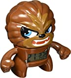 BulbBotz 2020077 Star Wars Chewbacca Light Up Reloj despertador
