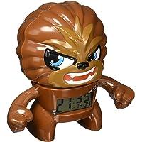 """Bulb Botz 2020077 Reloj Despertador para Niños, Star Wars Chewbacca, 7.5"""" Tall, color Café"""