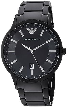 Emporio Armani Reloj Analógico para Hombre de Cuarzo con Correa en Acero  Inoxidable AR11079  Emporio Armani  Amazon.es  Relojes 6f143187eb1