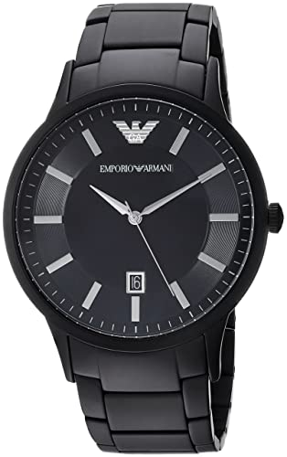 Emporio Armani Reloj Analógico para Hombre de Cuarzo con Correa en Acero Inoxidable AR11079: Emporio Armani: Amazon.es: Relojes