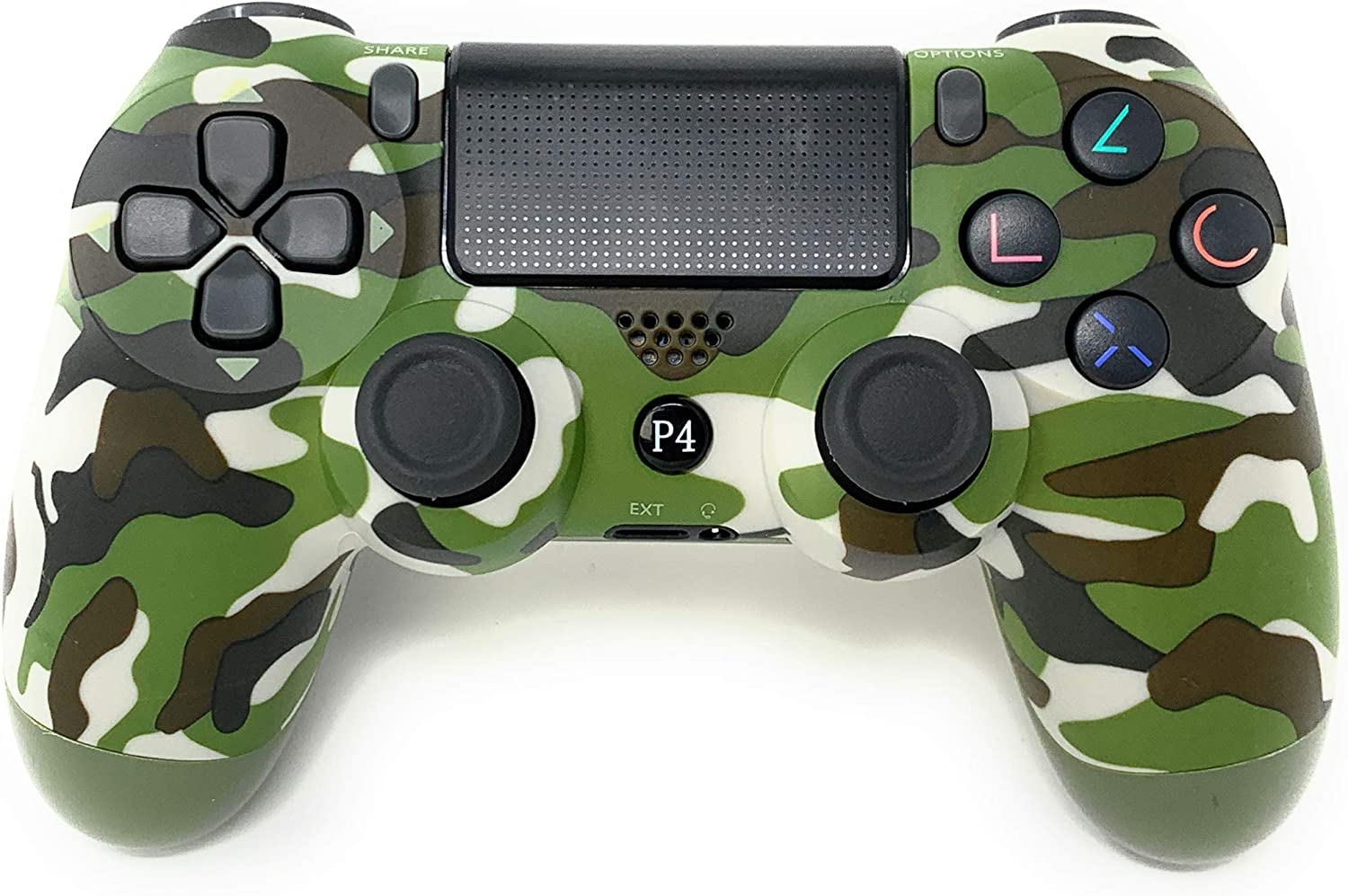 PS4 Controller Green CHASDI C200 Wireless Bluetooth with USB Cable for Playstation 4 Joystick
