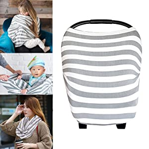 PPOGOO Baby Nursing Breastfeeding Cover Multi-Use Flexible Unisex