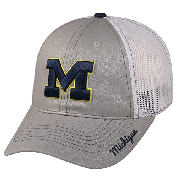 reputable site 48234 9220d ... promo code for amazon michigan wolverines official ncaa adjustable  womens glmor hat cap by top of
