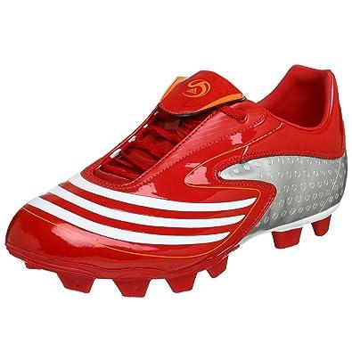 5b44eabec2962 Adidas Men's F10.8 TRX FG Soccer Shoe, Red/White/Warning, 10.5 M ...