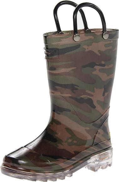 Camo Green, 8 M US Toddler | Rain Boots