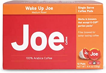 Joes Knows Coffee Pods (Medium Roast, 12 count)