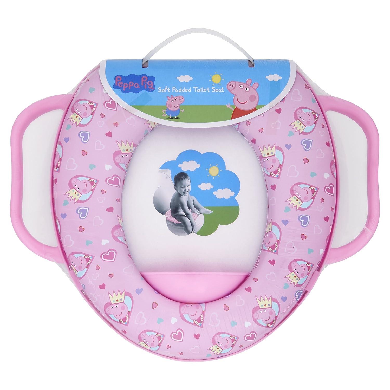 Peppa Pig souple rembourré Réducteur de toilette avec poignées Solution EU Limited 49927