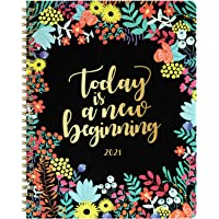 """2021 Planner - 2021 Weekly & Monthly Planner with to-Do List, 8"""" x 10"""", Jan. 2021 - Dec. 2021, Twin Wire Binding Perfect…"""