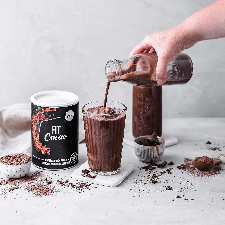 nu3 Fit Cacao Drink 300g - Cacao proteíco con 18g de proteína ...