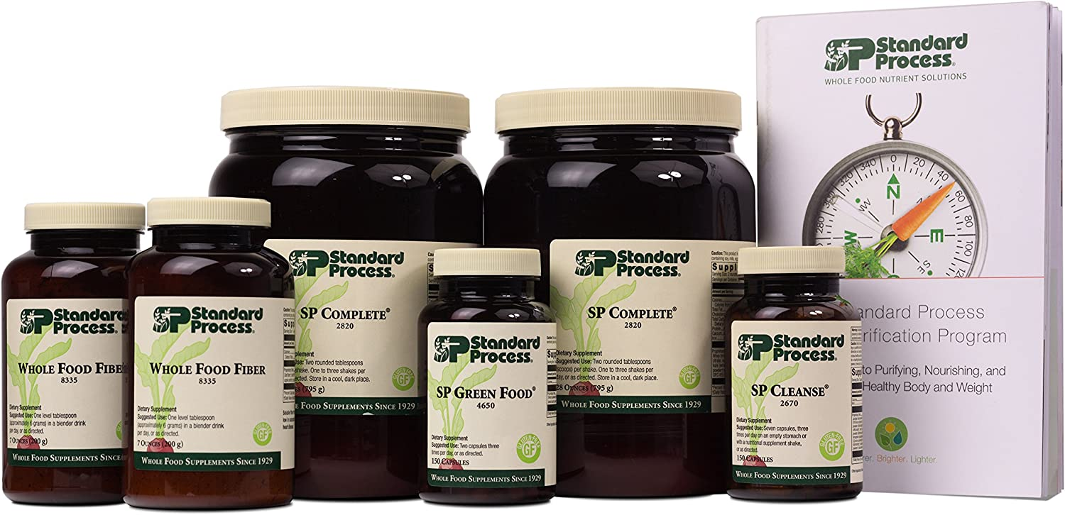 Standard Process – Purification Kit with SP Complete and Whole Food Fiber