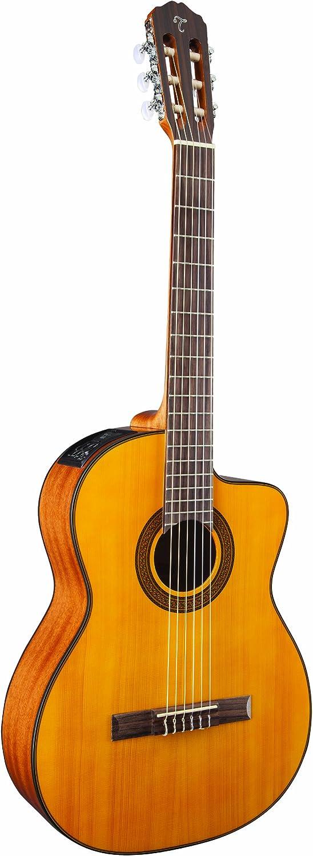 Takamine G Series GC3CE-NAT - Guitarra acústica eléctrica clásica ...