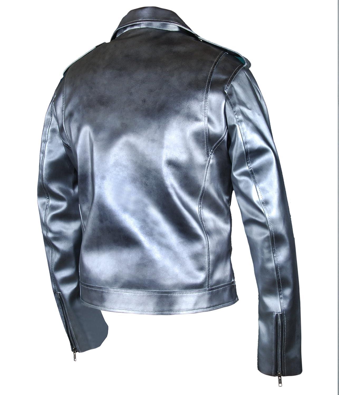 F/&H Kids X-Men Apocalypse Evan Peters Quicksilver Double Rider Xmen Jacket