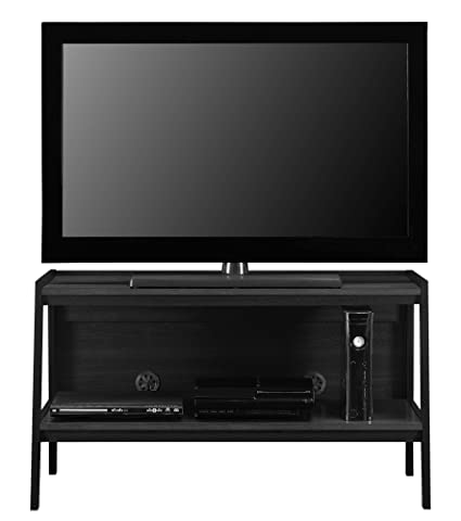 Ameriwood Home Lawrence 45u0026quot; Ladder TV Stand, Black