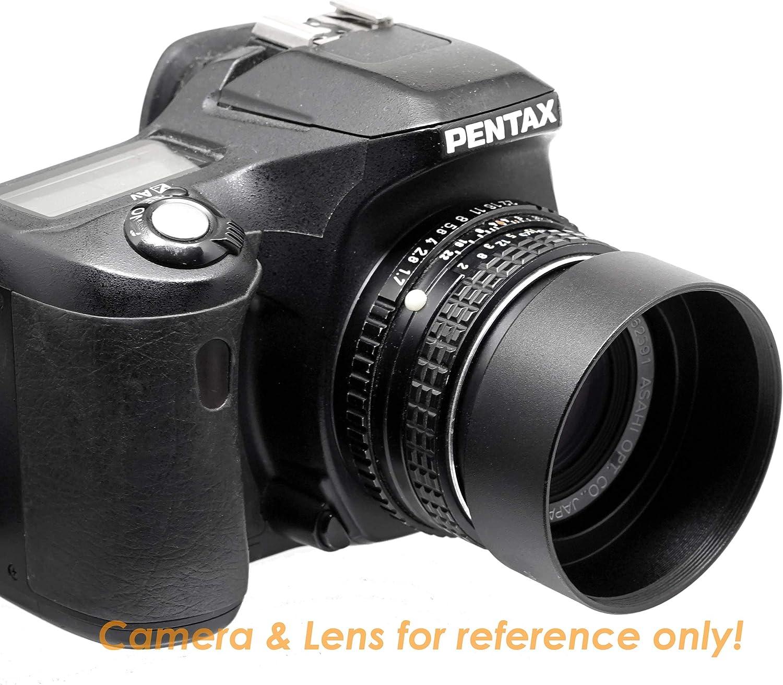 40.5mm Screw-in Lens Hood for Canon Fuji Leica Leitz Nikon Olympus Panasonic Pentax Sony Lens Wide Lens Hood 40.5mm Fotasy 40.5mm Metal Wide Angle Lens Hood