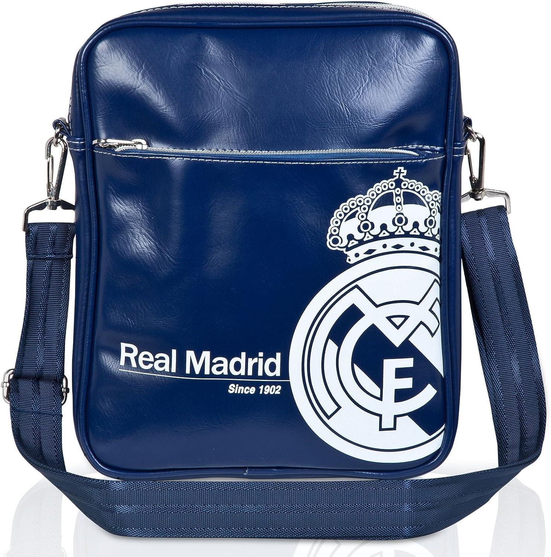 Real Madrid Side Bag BlueSilver Messenger Shoulder Cross