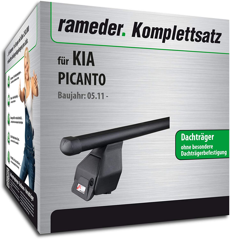 Rameder Komplettsatz 118774-09134-22 Dachtr/äger Tema f/ür KIA PICANTO
