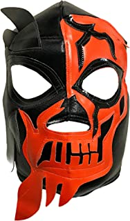 HALLOWEEN SKULL Lucha Libre Wrestling Mask (pro-fit) Costume Wear - Orange  sc 1 st  Amazon.com : lucha libre costume halloween  - Germanpascual.Com