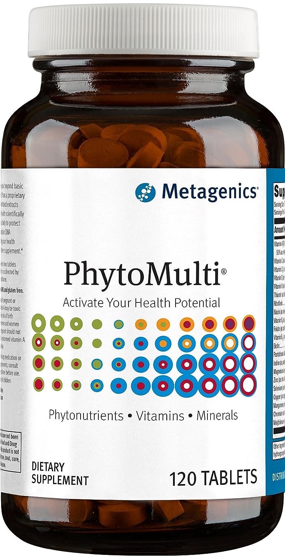 Metagenics(メタジェニクス)Phytomulti(フィトマルチ) 鉄分フリー 120錠 [海外直送品] B00BKNSV2A