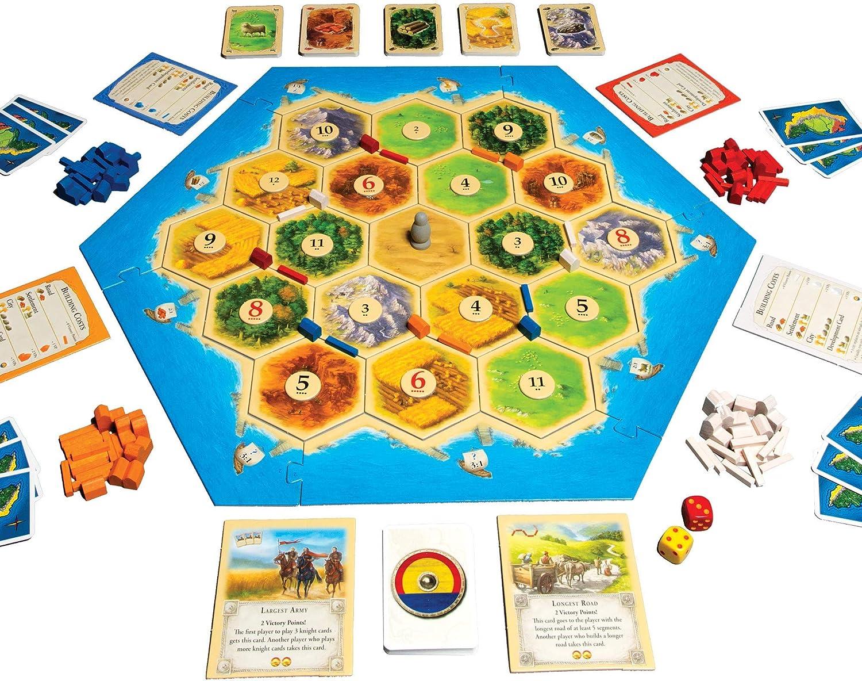 VEELIKE Catan Board Game: Amazon.es: Coche y moto