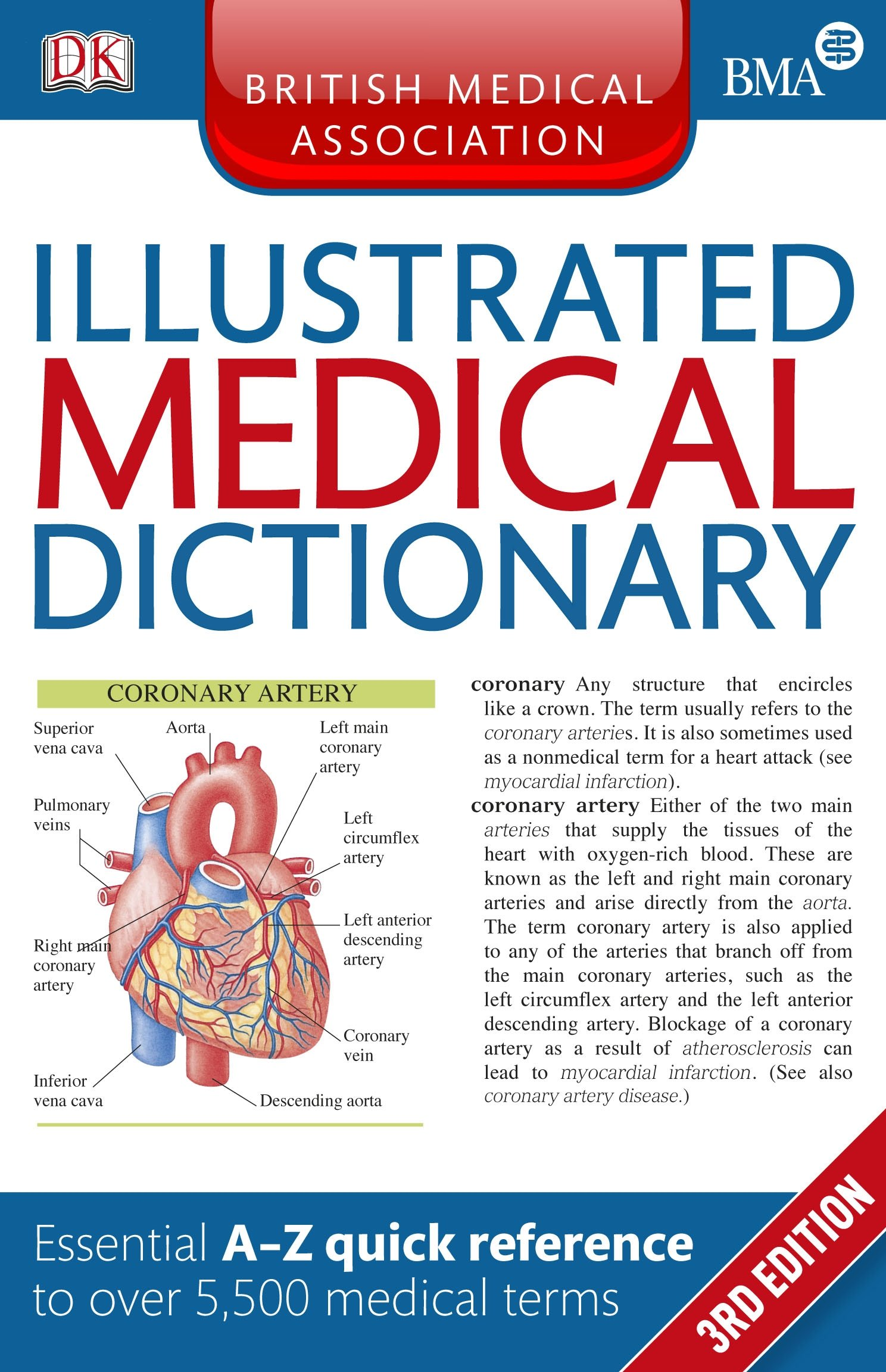 Bma Illustrated Medical Dictionary Essential A Z Quick Reference To